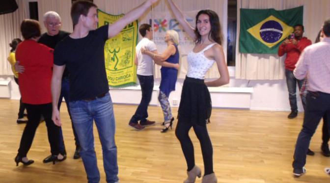 Samba and forró at Molde swing club