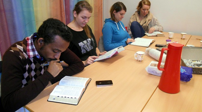 New Bible study group on Molde Campus