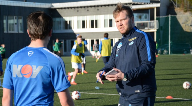 Icelandic student football nerd coaches MFK talents