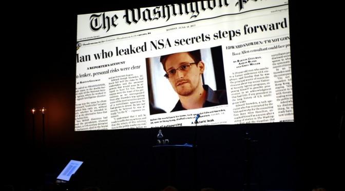 NSA-varsler Snowden ble hedret i Molde