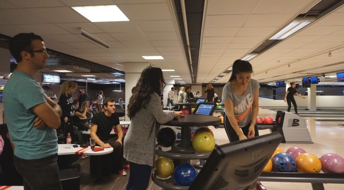 Go bowling with ESN Molde