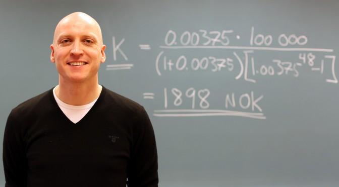 Rekordstryk i matematikk