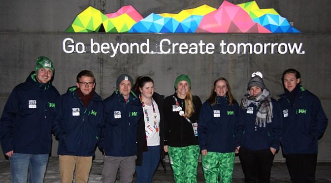 HiMolde-studenter er med på å skape OL-festen