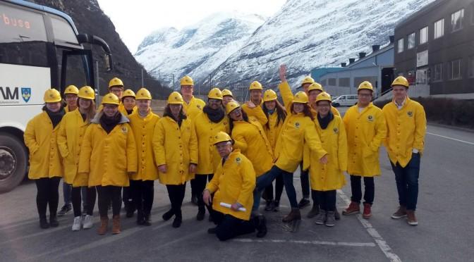 På ekskursjon til Hydro Aluminium