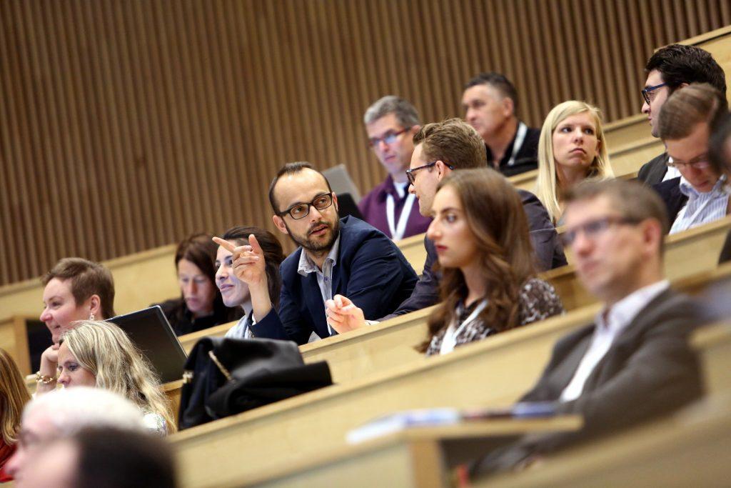 The audience. Photo: Marius A. Hansen