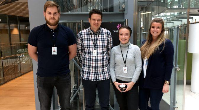 Rekordmange petlog-studenter med Statoil-sommerjobb