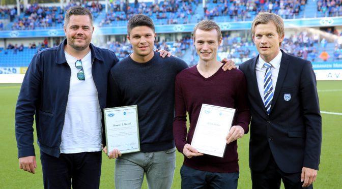 HiMolde-studenter hedret med «MFK-prisen» på Aker stadion
