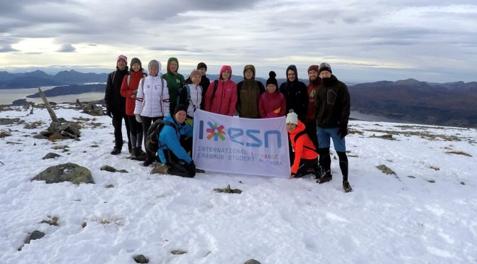 Molde students made it to the top