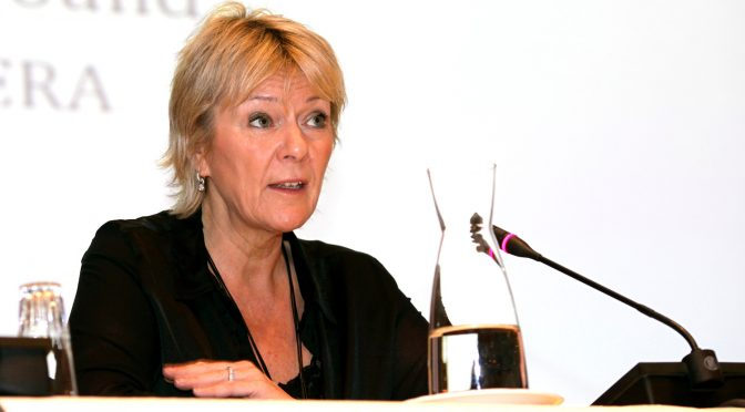 Kristin Clemet til debatt på Molde campus