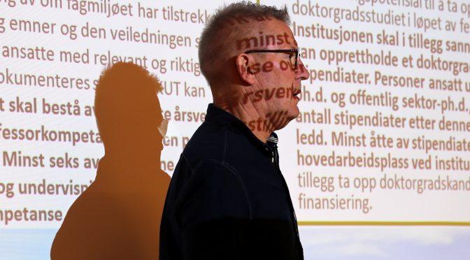 Gammelsæter foreslår HiVolda-fusjon for høgskolestyret