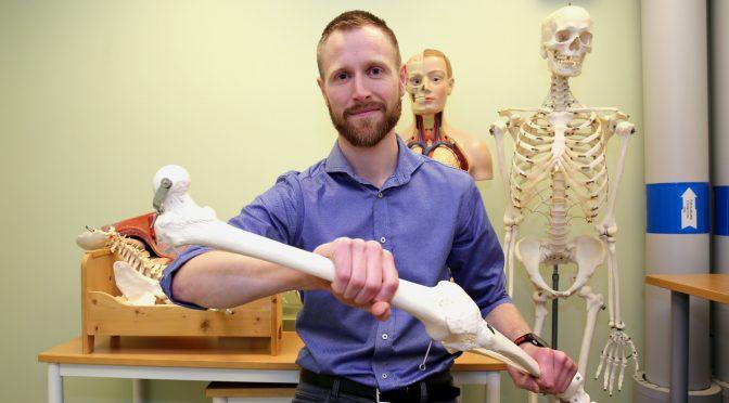 Stipendiat forsker på trening som medisin