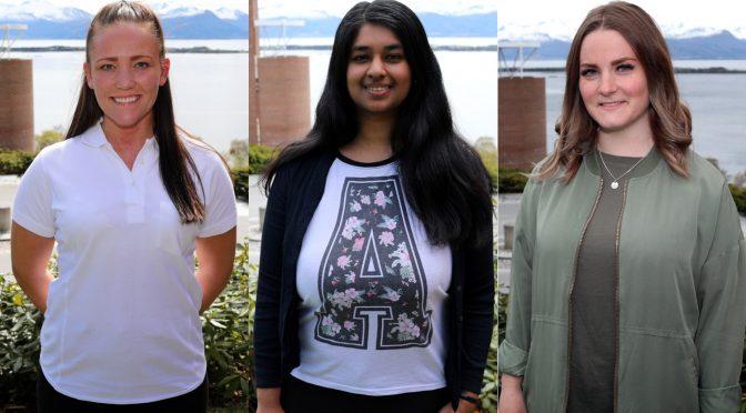 Her er de tre studentkandidatene til høgskolestyret