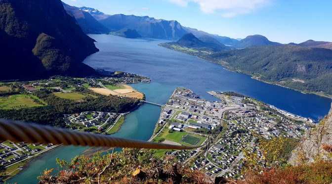 The iron way through Åndalsnes