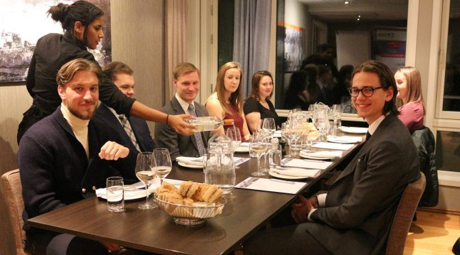 Econa made students taste fine wines