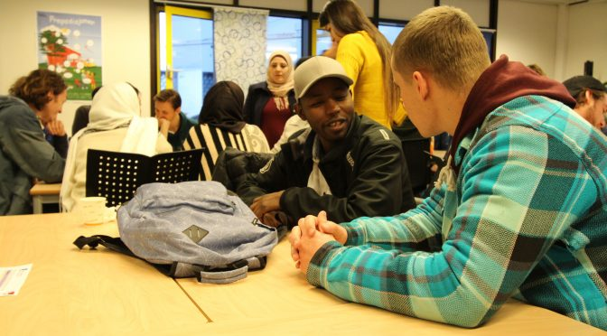 HiMolde students paving the way for refugee integration