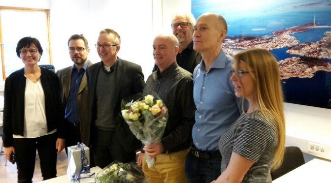 Første fastboende professor i Kristiansund