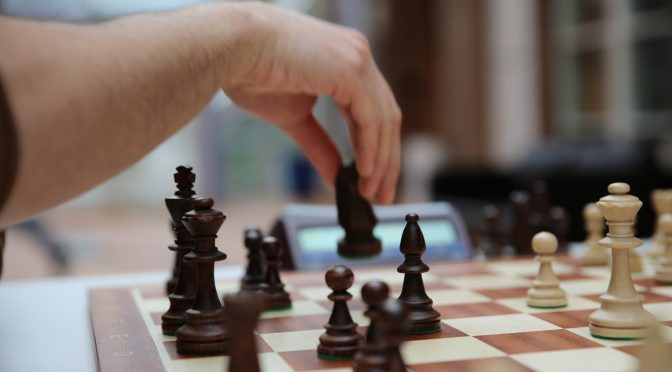 Knight Moves: Chess is popular among students
