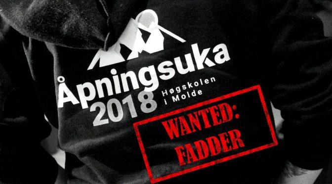 Åpningsuka – Wanted: Fadder!