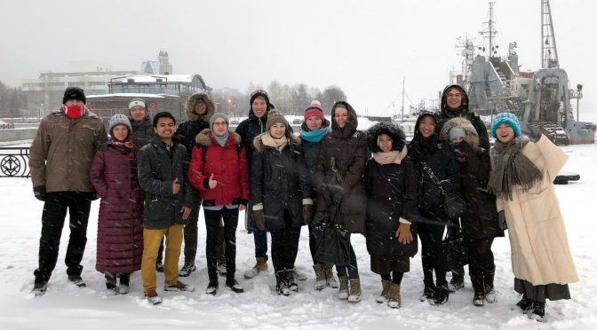 Arctic logistics:  Winter school in Arkhangelsk was a success, summer school in Moscow is next