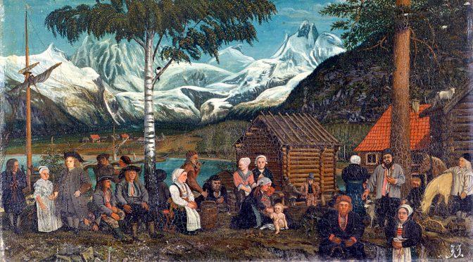 Romsdalsmarknaden var varebyte og handel sett i system