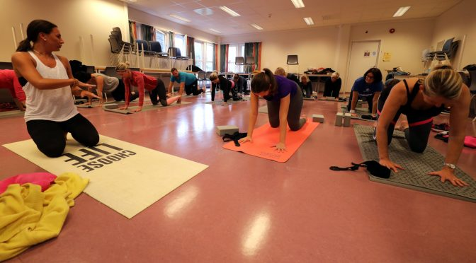 Yoga for ansatte på campus