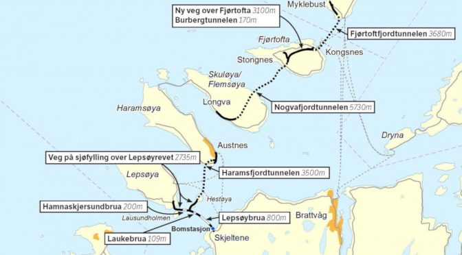 Nordøyvegen, sirkulær økonomi og metodefeil i fleng