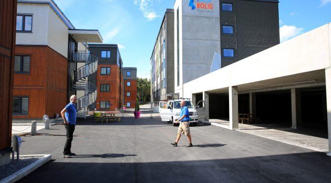 65 nye studenthybler på Molde campus