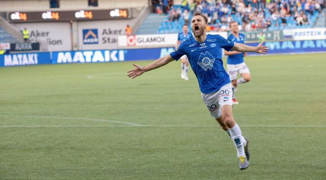Students had a close look into Molde FK's biggest game of the season