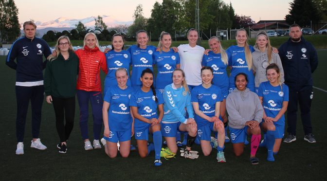 The student women's football team has joined the competition