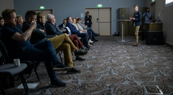 Presenterte SportIn-beta på bursdagen
