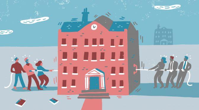 Kampen om universitetene