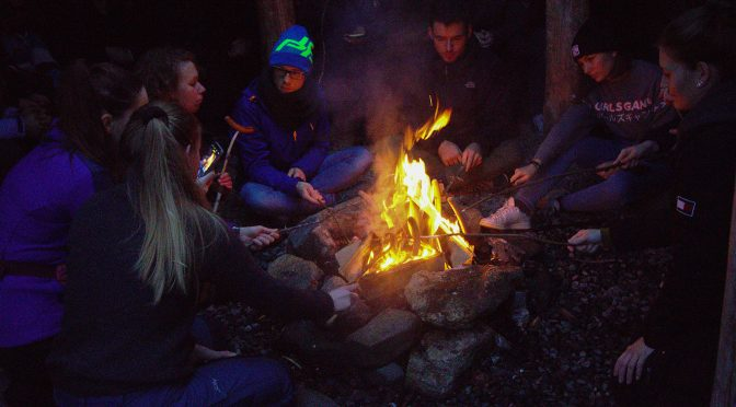 iFri gave students a taste of winter bonfire idyll