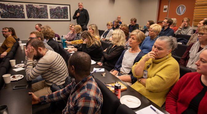 Mange var skeptiske til HVL-sonderinger på allmøtet