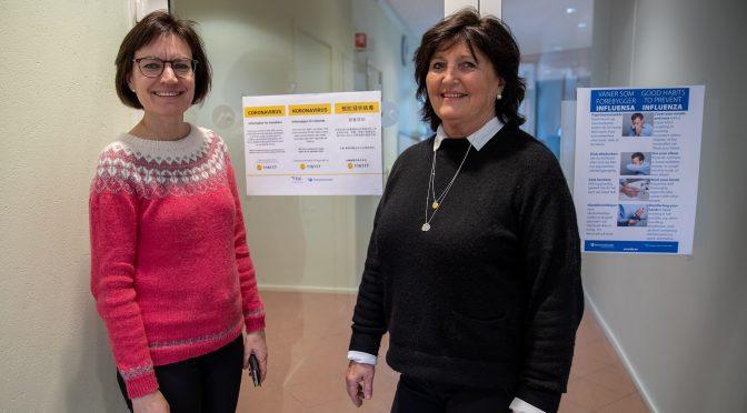 Koronoaviruset: Sykepleie- og vernepleiestudenter i praksis som normalt