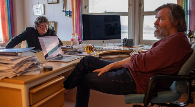 Optimist og fagveteran Asmund Olstad blir ny logistikk-dekan