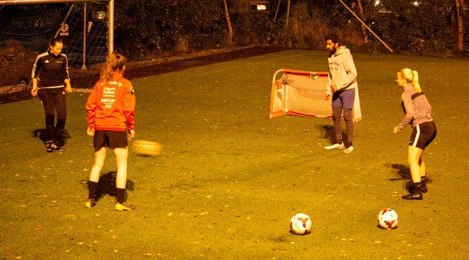 MSIs damelag vil fleire studentar på fotballtrening på Kvam KGB