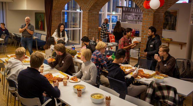 Get Together – ein samlande kveld for masterstudentane i logistikk